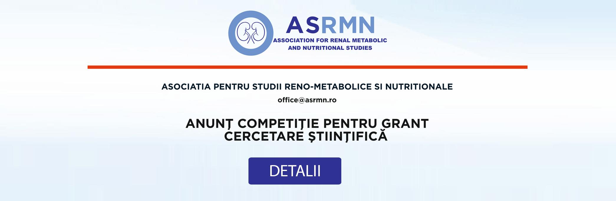 UPDATE: Rezultate Anunt competitie pentru grant cercetare stiintifica